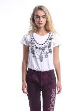 T-shirt Donna Splendida - Collane Gufi