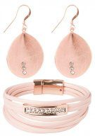 SET - Orecchini - rose gold-coloured