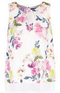 SUMMER FLORAL - Camicetta - ivory