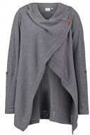 OBJDEANNA - Cardigan - medium grey melange