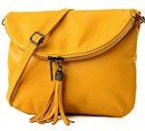 borsa di pelle ital. pochette pochette borsa tracolla Ragazze T139 piccola pelletteria