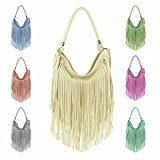 design italiano Borsetta Da Donna Frange Shopper Hobo-Bags Borsa A Tracolla Borsetta Con Manici