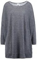 VIKUK - Maglietta a manica lunga - medium grey melange