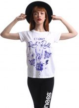 T-shirt Donna Splendida - It's Only Rock'n'Roll