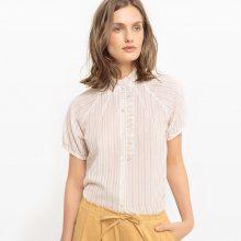 Camicia dritta, cotone