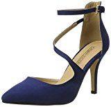 Buffalo Shoes 315349 Bhwmd Imi Suede, Scarpe Col Tacco con Cinturino a T Donna