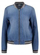 JDY JDYCHANTEL Giubbotto Bomber medium blue denim