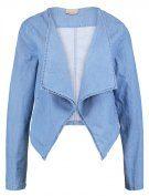 Vero Moda VMEMILIA Giacca di jeans light blue