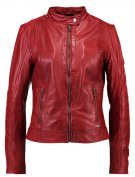 MARCIE - Giacca di pelle - red