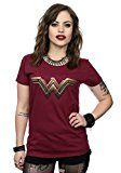 DC Comics Donna Wonder Woman Logo Maglietta