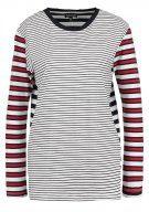STRIPE - Maglietta a manica lunga - red