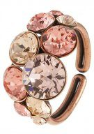 PETIT GLAMOUR - Anello - beige/pink