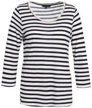 Maglietta a manica lunga - white/navy