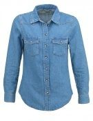 FITTED - Camicia - mid denim
