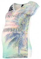 T-shirt con stampa - multicolor