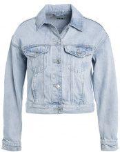 Topshop MATILDA Giacca di jeans lightdenim