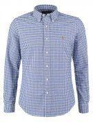 SLIM FIT - Camicia - blue/white