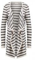 Vero Moda VMALTHA  Cardigan snow white/black
