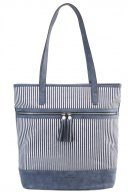 MARINA - Shopping bag - blue