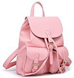 Greeniris Zaino Lady Fashion PU Schoolbag Borsa a tracolla sveglio e bello