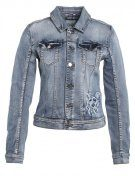 VIDEMAND - Giacca di jeans - medium blue denim