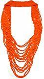 Tiboli Collana con perle di vetro