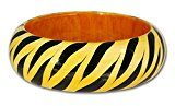 SilberDream Bracciale in legno Zebra, bracciale da donna in legno Bracciale RAV325Y