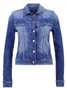 SLIM RIDER - Giacca di jeans - custom blue