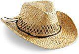 Cappello da cowboy, cappello estivo, cappello in paglia