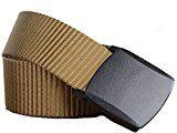 Yacn Outdoors-Cintura tattica in Nylon elasticizzato, con fibbia di plastica, ad asciugatura rapida e 119,38 cm (47