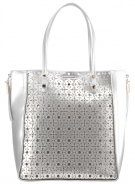 MACIE - Shopping bag - silver