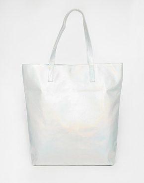 ASOS - Shopper con disegni effetto ologramma