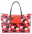 LOVE HEART - Shopping bag - red