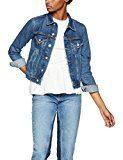 FIND Giacca Corta di Jeans Donna