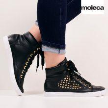 Sneakers alte con rivetti Moleca