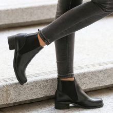 Chelsea boots in similpelle
