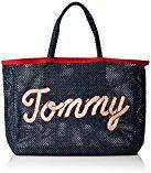 Tommy Hilfiger Th Summer Tote - Borse Donna, Blau (Tommy Navy Print), 10x36x45 cm (L x H D)