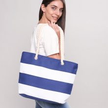 Shopper con manico in corda