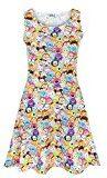 Disney -  Vestito  - T-shirt con stampe - Senza maniche  - Donna