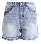 NMBE DONNA  - Shorts di jeans - medium blue denim