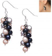 Orecchini con perle e argento 925