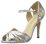 Buffalo Shoes Rk 1212-99 Metallic Pu, Sandali con Zeppa Donna