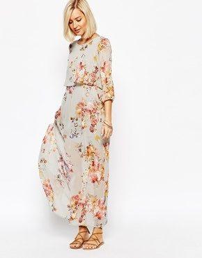 Vero Moda - Vestito lungo boho a fiori