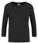 VMMAGGIE - Maglietta a manica lunga - black/snow white