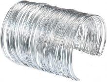 Bracciale aperto metallico