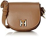 Tommy Hilfiger - Th Twist Leather Mini Crossover, Borse a tracolla Donna