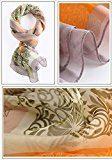 Sciarpa Seta 100% Delle Signore Elegante Grande Scialle Long Beach Sciarpe 68,8