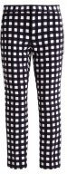 AVERY GINGHAM - Pantaloni - midnight