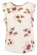 MONO FLORAL  - T-shirt con stampa - ivory