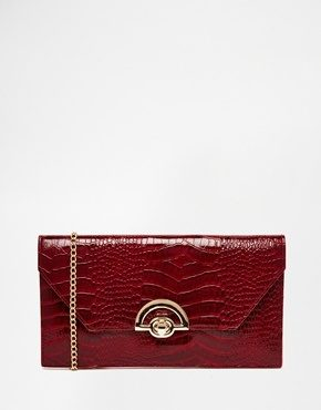 New Look - Pochette effetto pelle di serpente